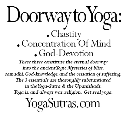 """Doorway to Yoga"" graphic, Julian Lee"